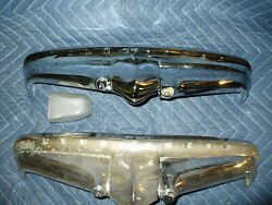 Rechromed Studebaker Commander 1950 Trunk Handle Ornament And One For Parts