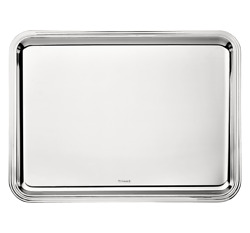 Christoffel Paris Silver-plated Rectangular Tray Albi Collection 17 X 12