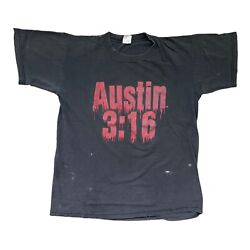 Vintage Stone Cold Steve Austin Blood From A Stone Shirt L / Xl