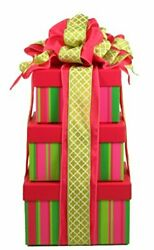 Gift Basket Village With A Cherry On Top Sweets And Spa Gift Tower To Pamper ...