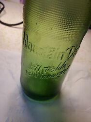 Antique Rare Green Embossed Mountain Dew Bottle It'll Tickle Your Innards