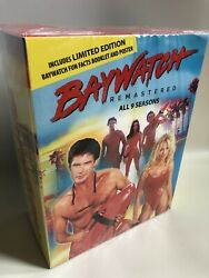 Baywatch Complete Dvd Tv Series Seasons 1 2 3 4 5 6 7 8 9 + Pilot Bonus Box Set
