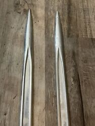 1961 Chevy Belair Fender Spears Trim Belt Side Molding Left And Right 2 And 4 Door