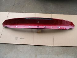 2013 2014 2015 16 Lincoln Mkz Trunk Lid Tail Gate Hatch Trim Molding Panel W/cam
