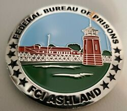 Federal Bureau Of Prisons Fci Ashland Ky 80th Anniversary Challenge Coin