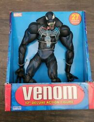 Venom 12 Deluxe Figure 2005 Toy Biz Marvel New In Packaging Free Shipping