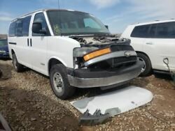 Driver Rear Back Door With Window Swing Out Fits 96-18 Express 2500 Van 1501745