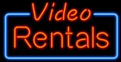 New Video Rentals Neon Sign 20x16 Light Lamp Store Wall Bar Collection St370