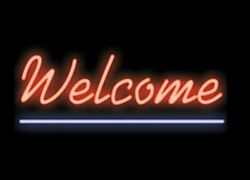 New Welcome Open Neon Sign 20x10 Light Lamp Store Bar Pub Collection St377