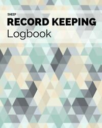 Sheep Record Keeping Logbook Farm Cattle Flock Lambing   By Signature Planner