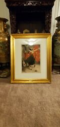 Louis Icart 1929 Original Signed Drypoint Etching On Paper Mint Cond Certified