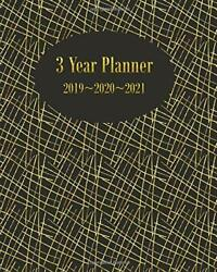 3 Year Planner 2019 2020 2021 Calendar For Long Term By Folio Dreams Brand New