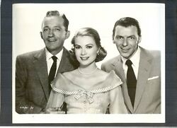 24 Photos - Sinatra + Grace Kelly + Bing Crosby - Ex To N Mint Cond- Mgm Musical