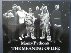 1983 Meaning Of Life - All Monty Python Cast - 11 X 14