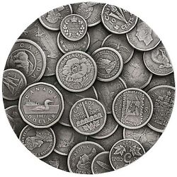 2017 250 Dollar The Canadian Coin Collection .9999 Silver 1 Kg. Coin