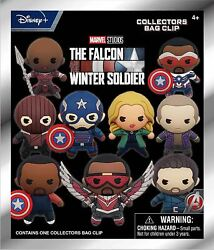 The Falcon And The Winter Soldier 3-d Foam Figural Bag Clip Keyring Blind Bag