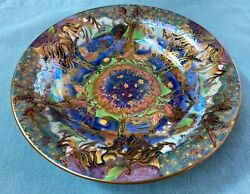 Wedgwood Fairyland Lustre Garden Of Paradise Lily Tray In Fantastic Condition