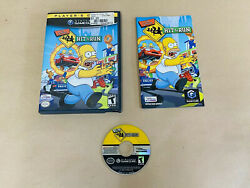 The Simpsons Hit And Run Game Gamecube - Fast Shipping