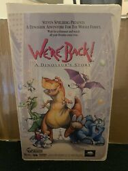 We're Back A Dinosaurs Story Vintage Vhs