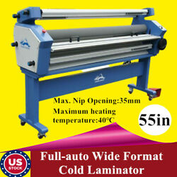 Us Qomolangma 55in Full-auto Wide Format Cold Laminator With Heat Assisted