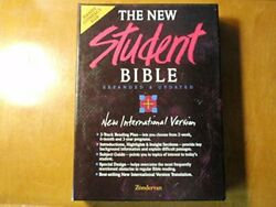 New International Version Compact New Student Bible Bonded - Hardcover Excellent