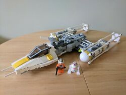 7658 Lego Star Wars Y-wing Fighter - Excellent Condition W/ Instructions