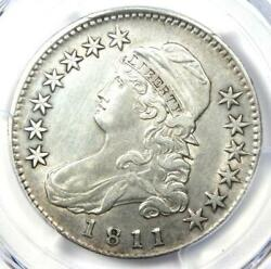 1811 Capped Bust Half Dollar 50c - Certified Pcgs Au Details - Rare Coin