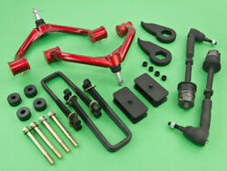 2011+chevy/gmc 2500 Hd 4wd Full 1 Lift Front+rear+control Arm+shock Extender