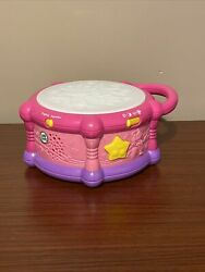 Leap Frog Leapfrog Learn And Groove Drum Bilingual Spanish/english Pink Tested
