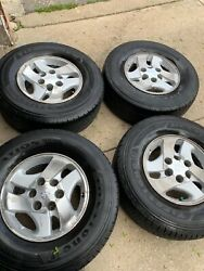Tires And Rims Oem Toyota 265/70r16