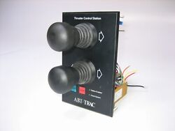 American Bow Thruster Abt Trac Dual Double Twin Bow Stern Joystick Control 24vdc