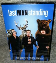 Last Man Standing The Complete 4th Season Mod Dvd New W/ Tattered Overwrap