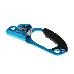 Hand Ascender With Rubber Handle For 8-12mm Rope Arborist Safety Tools