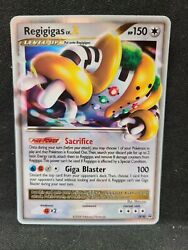 Regigigas Lv X Holo Rare Dp30 Nm Black Star Promo Pokemon Cards