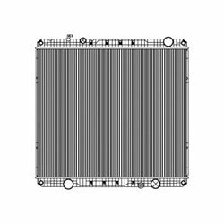 Fits A 2012 2013 2014 Freightliner W95 114sd Radiator