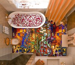 3d Stained Glass 3667 Floor Wallpaper Murals Wall Print Decal Au Zoe