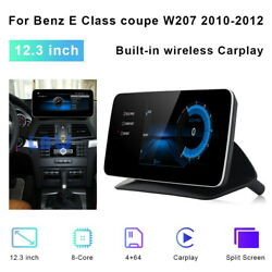 For Benz E Class Coupe W207 2010 2011 12.3 Car Gps Navi Stereo Wifi Android