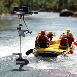 60v 2.2kw Electric Outboard Motor High Power Brushless Fishing Boat Engine Usa