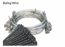 Baler Wire 14ft 1000 Kg = 40 X Bundles Baling Wire Galvinised