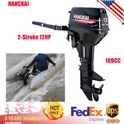 2-stroke Outboard Motor Fishing Boat Engine Water-cooling Cdi Tiller Control