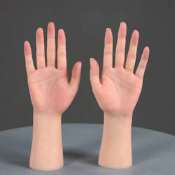 Lifesize Silicone Practice Female Hands Model Mannequin Display For Nails Tattoo