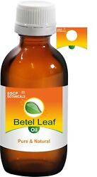 Sscp Betel Leaf Pure And Natural Oil 5 Ml To 250 Ml Piper Betle