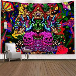 Mushrooms Tapestry Wall HangingColorful Tapestry Surreal Abstract Tapestries