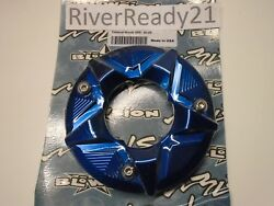 Blowsion Kawasaki Sxr 800 Exhaust Outlet Flange Nozzle Blue Aluminum In Stock