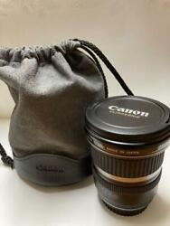 Canon Ef-s 10-22mm F3.5-4.5 Zoom Lens Camera Japan Limited F/s Mte595