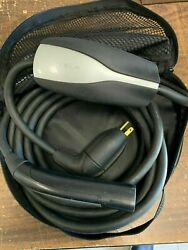 Tesla S/x/3 Mobile Connector Charger Gen-1 Charging Cable 40 Amp 110 220 Adapter