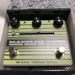 Mr.black Ss-850 Delay Effects Pedal Perfect Packing From Japan
