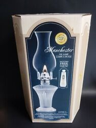 Lamplight Farms Oil Lamp Vintage Ultra Pure Candle Lamp Oil Manchester Light