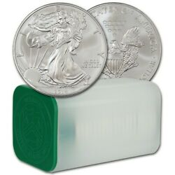 Silver Eagle 2014 20 Coin Roll Uncirculated