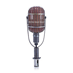 Altec 639b Birdcage Microphone Rare Vintage Mic + Base United Nations Nyc We